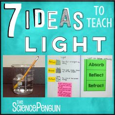 This post is all about the behavior of light.  I use a lot of hand motions and concrete examples to teach this unit.  We make up hand motions for all of the vocabulary words and practice them.  We identify how light responds to objects in the classroom.  Here's a collection of resources and ideas I've used …