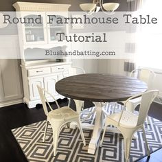 handcrafted custom round farmhouse table by Farmhouse Restaurant Tables Restoration Hardware Trestle Table