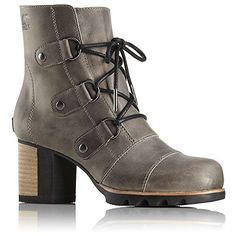 Sorel Womens Addington Lace Up Booties * Click image for more details. (This is an Amazon affiliate link)