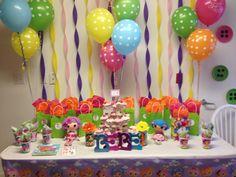 Lalaloopsy Birthday Theme Decor made by Me