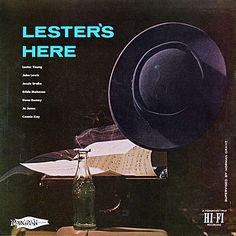 Great Lester Young's record cover
