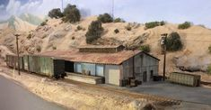 Realistic Corrugated material for large building in HO scale | Model Railroad Hobbyist magazine