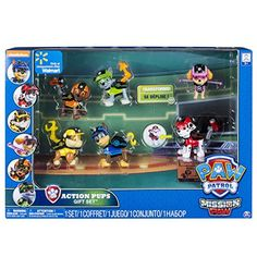 "Pat'Patrouille - Pack 6 Figurines - Spin Master Toys - Toys""R""Us Toys R Us, Toys For Boys, My Moon And Stars, Paw Patrol Characters, Paw Patrol Toys, Best Christmas Presents, Christmas 2017, Puppy Gifts, Barbie"