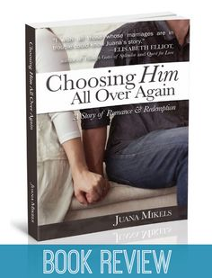 Choosing Him All Over Again By Juana Mikels – Book Review --- Juana writes from her heart as she exposes her journey of marriage brokenness and reconciliation, giving readers hope for the future and motivation to embrace true intimacy with God. This story is captivating because Juana details her thoughts and emotion… Read More Here http://unveiledwife.com/choosing-juana-mikels-book-review/