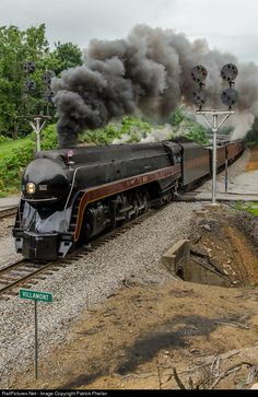 RailPictures.Net Photo: NW 611 Norfolk & Western Steam 4-8-4 at Villamont, Virginia by Patrick Phelan