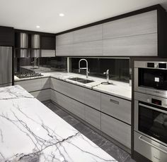 Ultra-Modern Aesthetic - Impala Kitchens