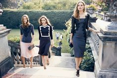 tory burch holiday2 Zuzanna Bijoch, Tilda Lindstam & Laura Kampman for Tory Burch Holiday 2013 Campaign