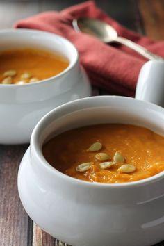 Winter Squash and Pumpkin Soup
