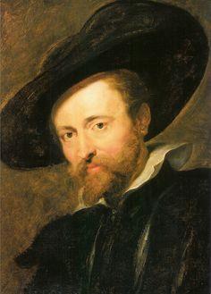 Selfportrait, P.P. Rubens - Antwerpen Rubenshuis (1577-1640)