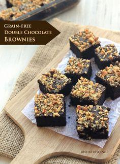 Chocolate Brownies #glutenfree #grainfree #paleo