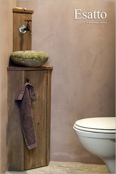 The official website of Pure & Original Guest Toilet, Downstairs Toilet, New Toilet, Modern Toilet, Bathroom Toilets, Small Bathroom, Bathrooms, Cottage Shabby Chic, Lime Paint