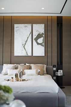 Modern Bedroom Ideas - Search modern bedroom embellishing ideas and also designs. Discover bedroom ideas and also design ideas from a selection of modern bed rooms, including color, . Master Room, Master Bedroom Design, Home Bedroom, Bedroom Ideas, Bedroom Inspiration, Master Bedrooms, Home Interior, Interior Architecture, Interior Design