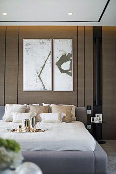 Unusual bedroom art, but love it... www.sunshinecoast...