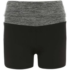 Dorothy Perkins **DP Active Space Dye Shorts ($14) ❤ liked on Polyvore featuring activewear, activewear shorts, dorothy perkins and yoga activewear