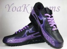 Not bad! Purple Sneakers, Air Max Sneakers, Sneakers Nike, Nike Air Max, Shoes, Fashion, Nike Tennis, Moda, Zapatos