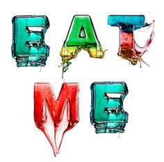 Snoep alfabet: Eat Me « EYEspired