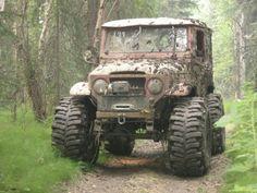 xcuse me, where go de mud? Toyota Cruiser, Toyota Fj40, Toyota Trucks, Fj Cruiser, 4x4 Trucks, Jeep 4x4, Jeep Truck, Carros Toyota, Expedition Vehicle