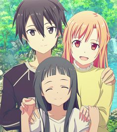 kirito and asuna - Google Search