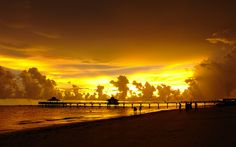 Golden day – The Beaches of Fort Myers