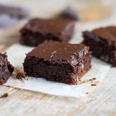 Brownies with a twist! Fudgy Adzuki Bean Brownies