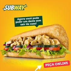 Olha só quem chegou no FomeDemais.com Clique na imagem e faça já o seu pedido pelo nosso site.   www.fomedemais.com  #FomeDemais #SubwayValedoAco #Delivery