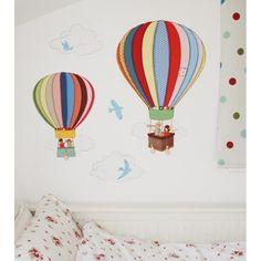Belle & Boo Balloons Wall Sticker