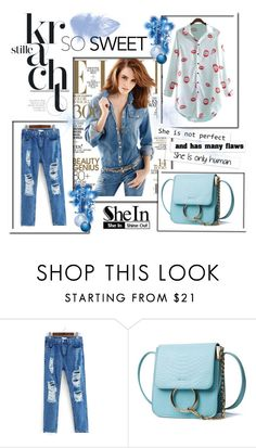 """""""So sweet style :)"""" by red-rose-girl ❤ liked on Polyvore featuring Summer, Sheinside and shein"""