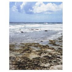 Aruba Rocky Ocean Jigsaw Puzzles    •   This design is available on t-shirts, hats, mugs, buttons, key chains and much more    •   Please check out our others designs and products at www.zazzle.com/zzl_322881145212327*