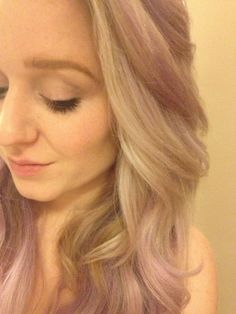 Blonde & Lilac Hair    http://fuckyeah-dyedhair.tumblr.com/post/38699569214