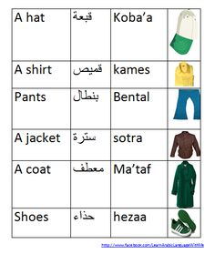 Learn Arabic For Beginners For more lessons please follow us at http://www.facebook.com/LearnArabicLanguageWithMe