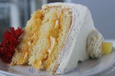 Torta de piña Homemade Cakes, Dory, Food Hacks, Vanilla Cake, Food And Drink, Desserts, Recipes, Baby Shower, Kitchen