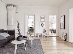 Shades of grey... Gothenburg apartment -My scandinavian home