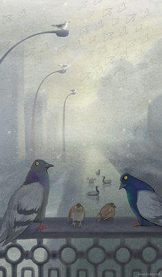 Международный день птиц. Летающих и не очень : >