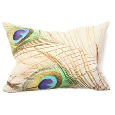 I need some of these pillows to add a touch of color to my sofa! Plus I'm seriously into peacocks right now!