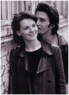 Olivier Martinez and Juliette Binoche