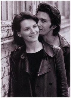 Olivier Martinez and Juliette Binoche