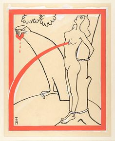 "lnwolffeugene: "" Thomas Theodor Heine (1867–1948)   Illustration to Knut Hamsun, Slaves of Love, 1902 """