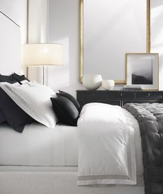 64 the coolest and easy but luxury bed room decoration is perfect for your home page 19 Bedroom Colors, Home Decor Bedroom, Bedroom Furniture, Bedroom Ideas, Bedroom Designs, Wooden Furniture, White Bedroom Black Furniture, Glam Bedroom Set, Beds Master Bedroom