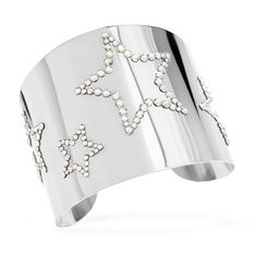 Derek Lam, YSL and Chanel all sent silver down their fall runways. Try out these couture cuffs for less.
