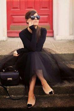 Ted Baker Tulle Skirt | Sheer Luxe