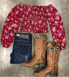 New Shirts available online & in store ! Boots & Jeans New Shirts available online & in store ! Country Girl Outfits, Sexy Cowgirl Outfits, Cowboy Boot Outfits, Western Outfits Women, Rodeo Outfits, Cute Outfits, Cowgirl Clothing, Country Dresses, Western Dresses
