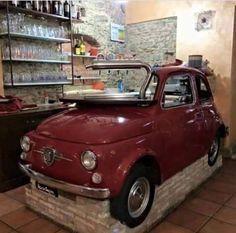 Fiat 500 Pop, Fiat 126, Car Bar, Fiat Abarth, Engine Rebuild, Small Cars, Automobile, Affair, Icons