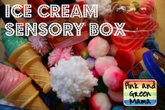 Do crafts with the kiddo to create items to fill the box and then have for later play!