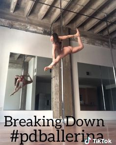 Pole Fitness Moves, Pole Dance Moves, Pole Dancing Fitness, Gym Workout Videos, Gym Workouts, Best Twerk Video, Pool Dance, Pole Tricks, Dance Videos