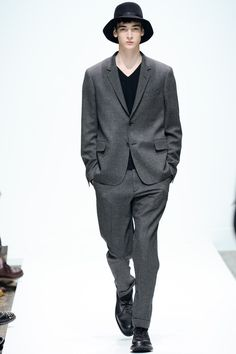 Margaret Howell | Fall 2014 Menswear Collection | Style.com - slouchy suit