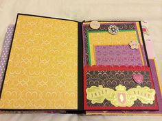 """Sweetheart Page"" - Birthday Keepsake Book"