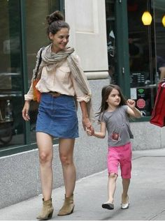 "Katie Holmes will be showing her fashion line ""Holmes & Yang"" at the tents at Mercedes Benz Fashion Week in September."