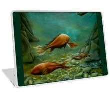 Laptop Skin, unique,cool,fancy,beautiful,trendy,artistic,awesome,unusual,fashionable,accessories,gifts,presents,ideas,design,items,products,for,sale,green,fish,underwater,ocean