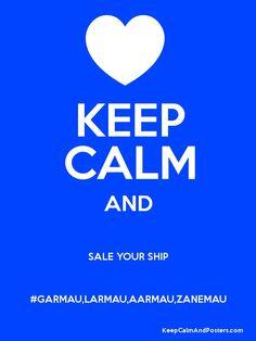 Keep Calm And Ship Zanemau
