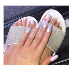 The above are the most attractive holographic nail designs in Do you like any one of them? White Chrome Nails, White Nails, Opal Nails, Toe Nails, Gorgeous Nails, Pretty Nails, Nail Art Designs, Acrylic Toes, Unicorn Nails